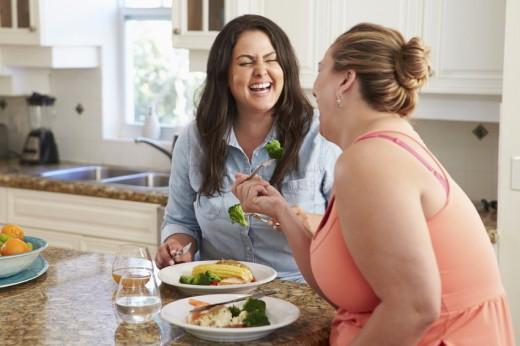 Ожирение передается от человека к человеку