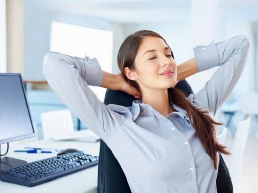 Не забывайте отдыхать от работы