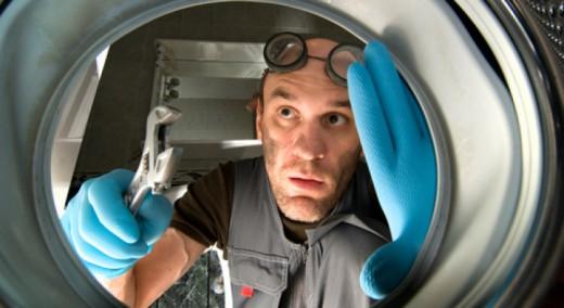 Миниремонт стиральной машины. Мастеров просим не беспокоиться!
