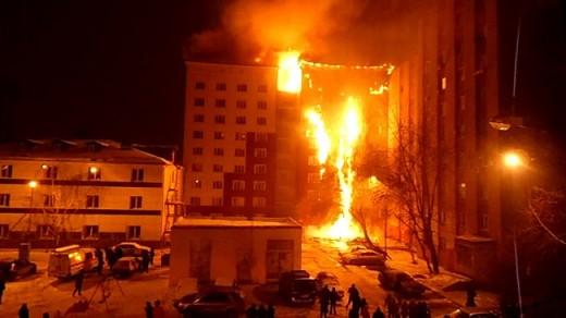 Тюменский пожар – повод задуматься о безопасности!