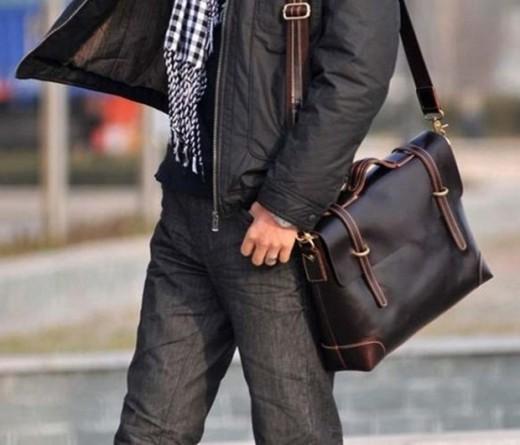 Мужские сумки: советы по выбору