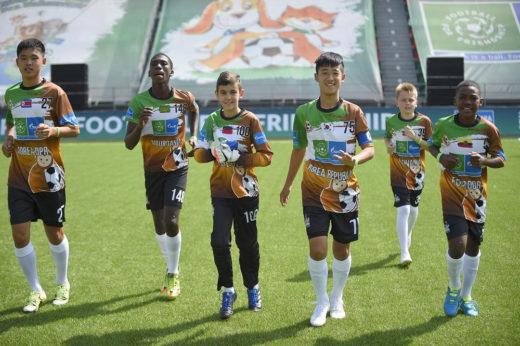 Футбол подружил Северную и Южную Кореи