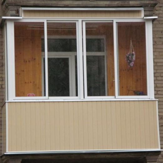 Наружная отделка балконов от компании «Центр ЛТД»
