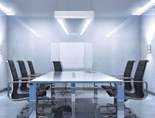 Какими светильники установить в офисном помещении