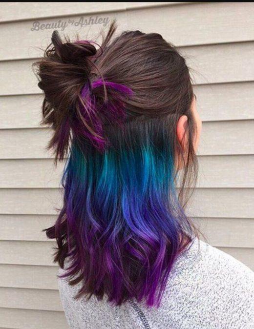 Окрашивание волос коломбре: создайте по-летнему яркий образ!