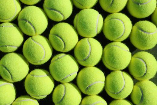 История появления мячей для большого тенниса