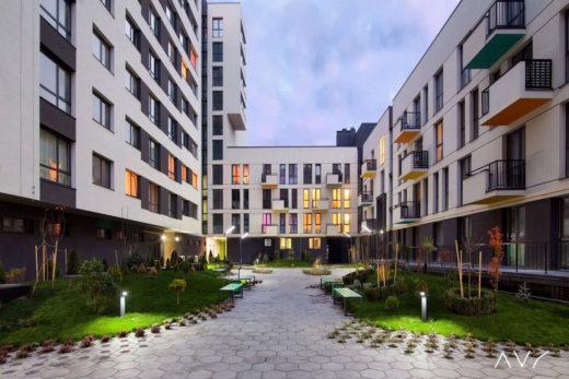 Элементом современного жилья становятся дворы без автомобилей