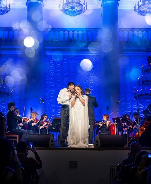 Игорь Монаширов представил юбилейную программу на концерте в Колонном зале Дома Союзов