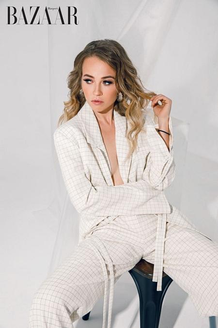 Журнал Harper's Bazaar Vietnam опубликовал интервью модели Ellen Alexander