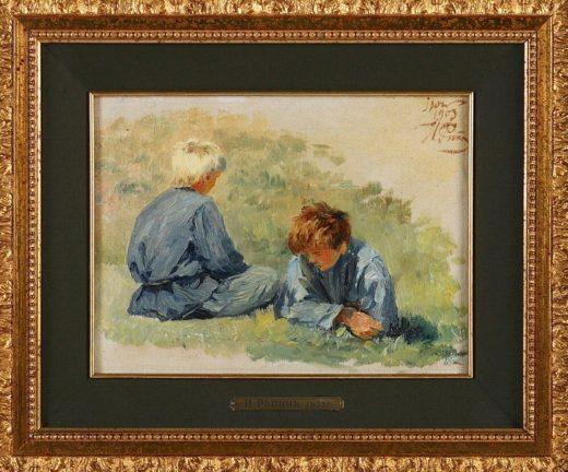 Картины лучших русских живописцев выставлены на аукцион в Москве