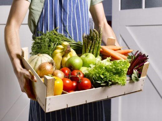 Свежие овощи с доставкой