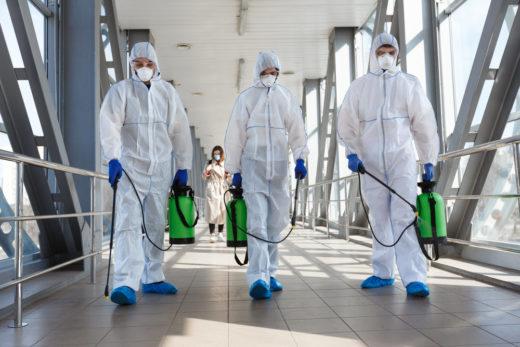 Как правильно дезинфицировать офисы, рестораны и другие общественные места от коронавируса