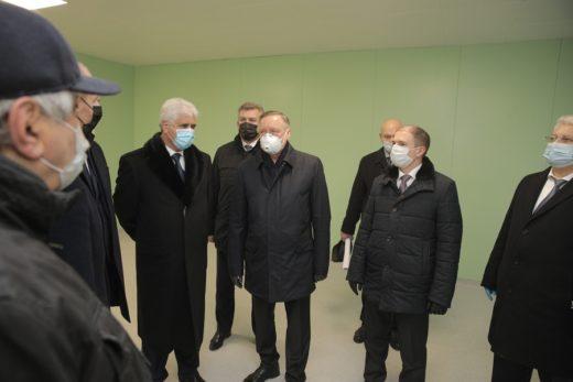 Михаил Романов принял участие в инспекционной поездке губернатора в Колпино