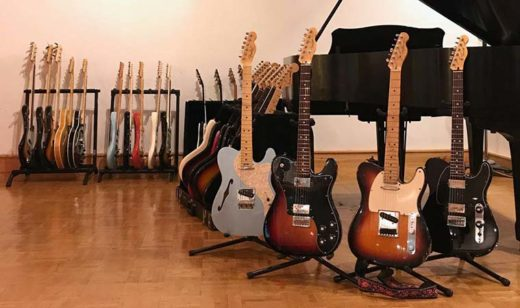 Особенности конструкции гитар фирмы Fender