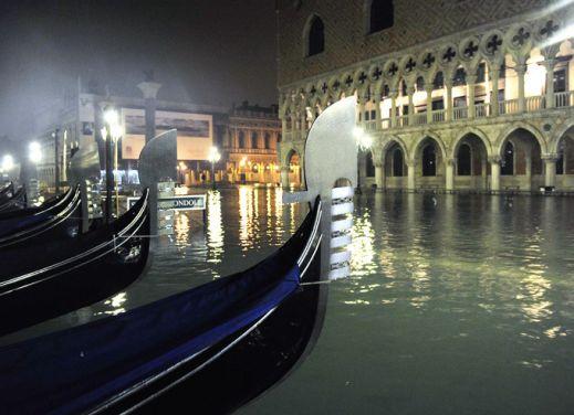 Венеция опять уходит под воду