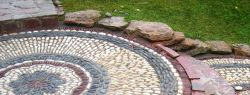 Способы укладки натурального камня