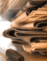 Как использовать старые газеты