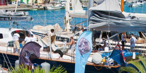 В Christophe Harbour заложен фундамент причала для мега-яхт