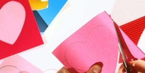 Детские поделки. Как сделать валентинку своими руками?