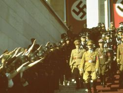 Цветные фотографии нацистской Германии