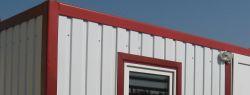 Внешняя отделка домов из контейнеров