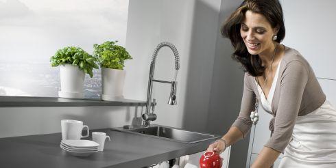 Железное средство для мытья посуды