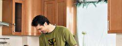 Замена фасада на кухонной мебели