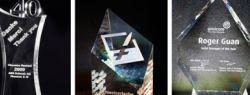 Награды из стекла: презентабельно, стильно, уникально