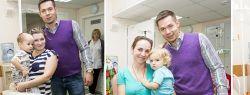 Добрые волшебники посетили детей Морозовской детской городской клинической больницы
