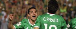 Матч Мексики против Новой Зеландии
