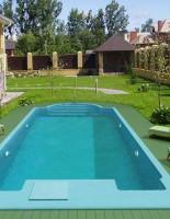 Строительство бассейна на даче по проекту от vashbas.com