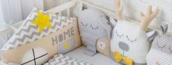 Бортики в детскую кроватку — безопасность и комфорт с пелёнок