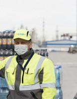 Закупить санитарные и дезинфицирующие средства для волонтеров в Новосибирске поможет «Балтика»