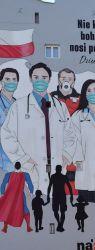 Граффити, связанные с коронавирусом