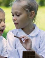 Детство и всемирный день шоколада