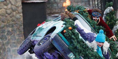 Новогоднее трюковое представление «Новый год по-каскадерски»