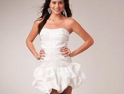 Белые вечерние платья