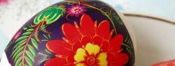 Яйца с наклейками — также писанки