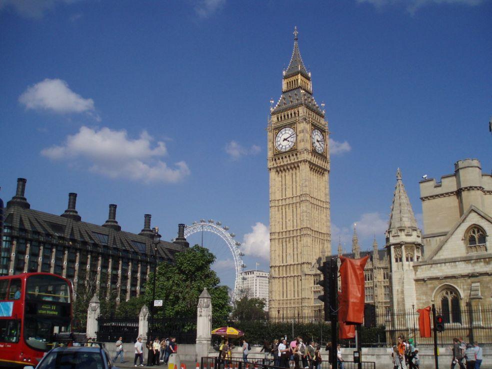 Биг Бэн в Лондоне