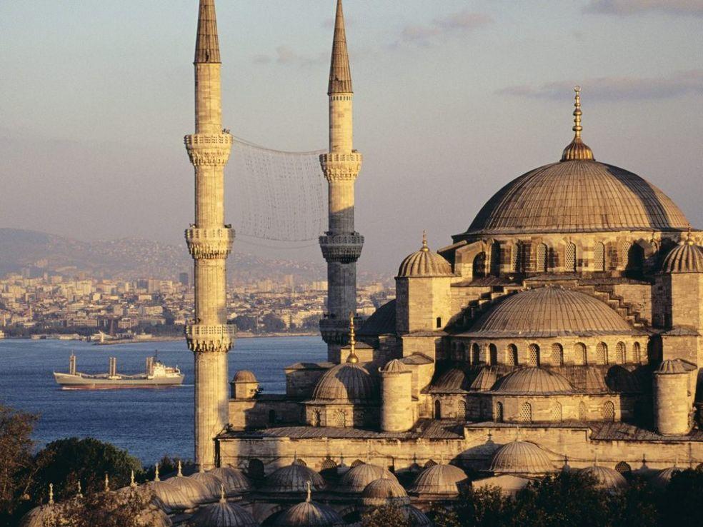 Айя София в Стамбуле, Турция