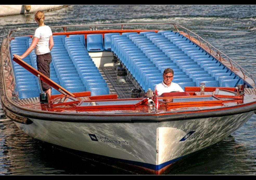 Прогулочные лодки в Копенгагене
