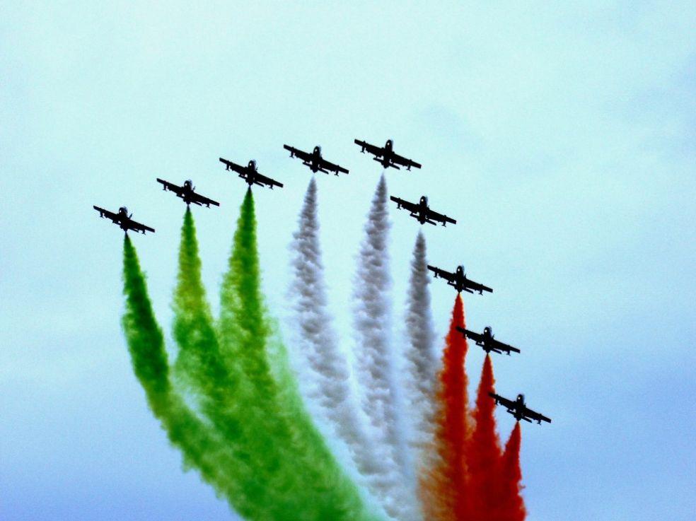 Пилотажная группа итальянских ВВС