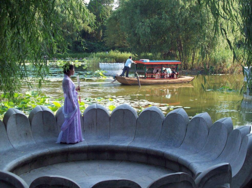 Пурпурный Бамбуковый парк, Пекин