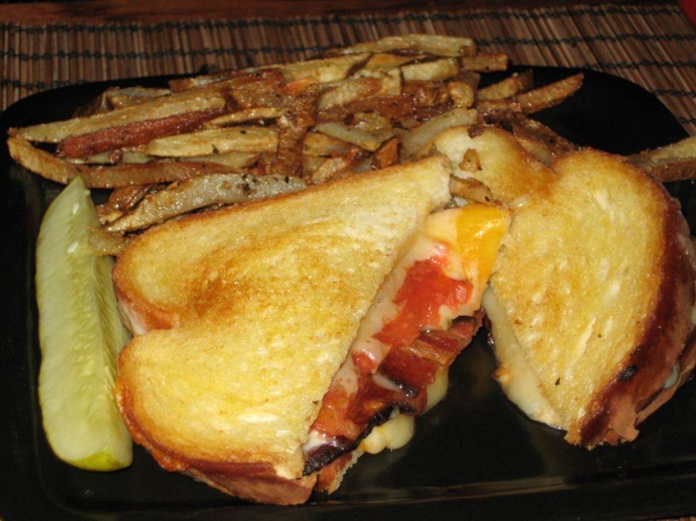 Зпеченные бутерброды