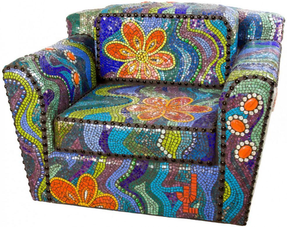 Мозаичное кресло из Мельбурна