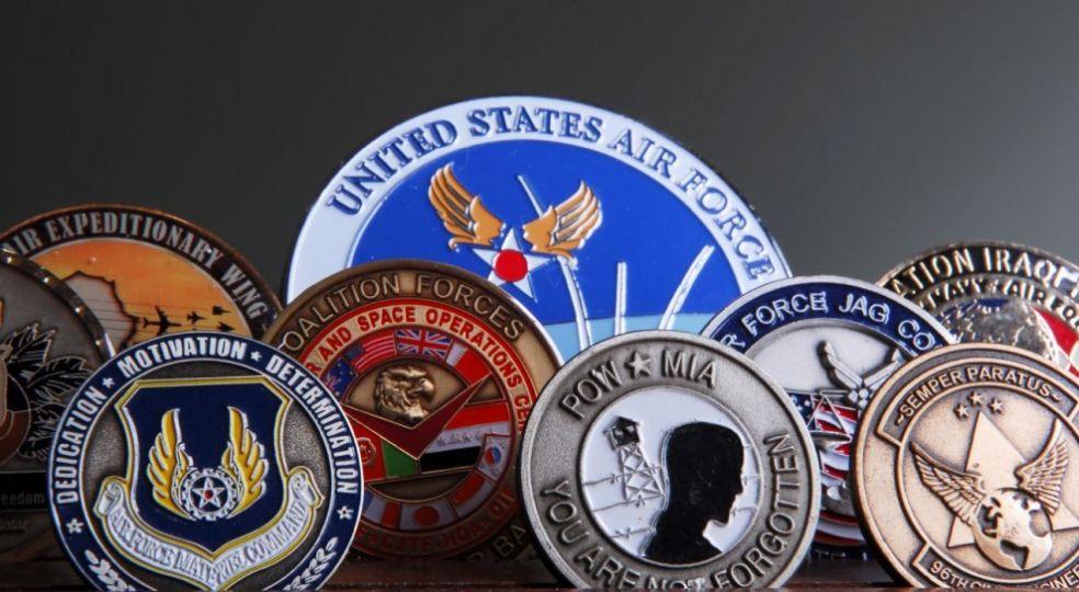 Военные монеты