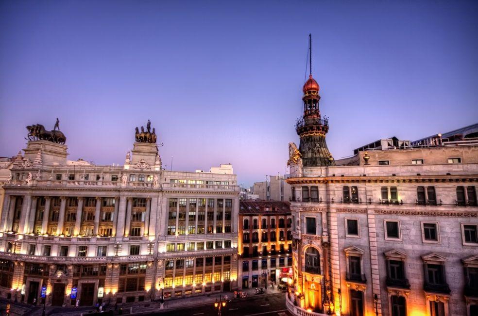 Площадь Канальес в Мадриде