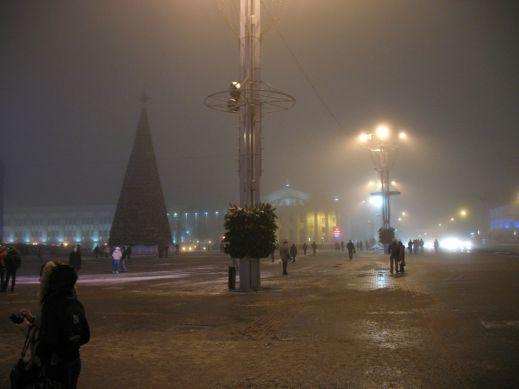 Новогодний Минск (подсветку обязательно включат)