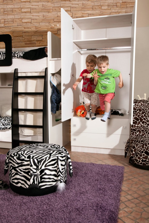 Меблировка и убранство детской комнаты