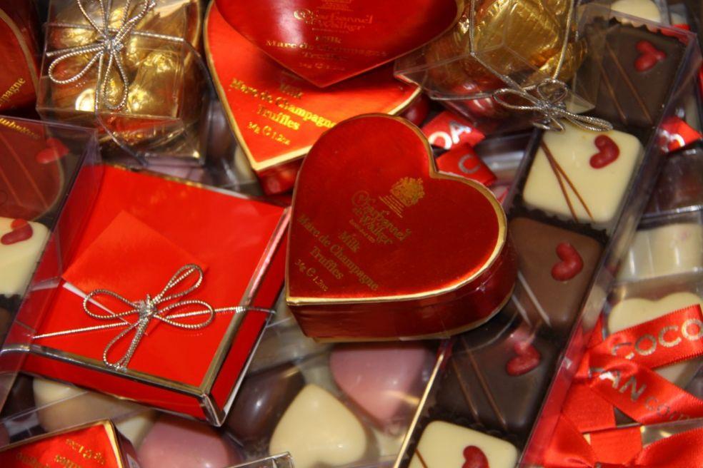 Сладости в День Влюбленных